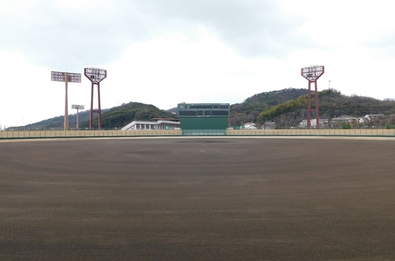 竹ケ端運動公園野球場 イメージ